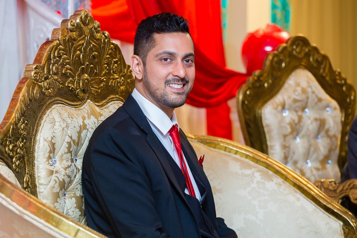 Pakistani Wedding Photography Muslim Wedding Photography Riverside Venue Houslow London Red and Gold Weddings Asian Wedding Photography and Videography London-0012